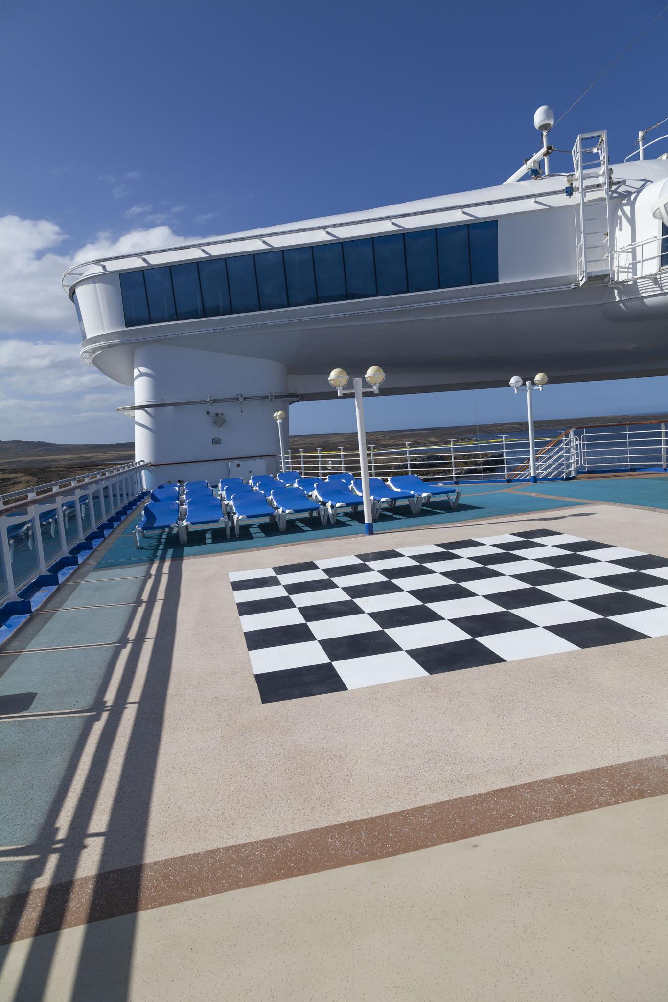 Star Princess Top Deck