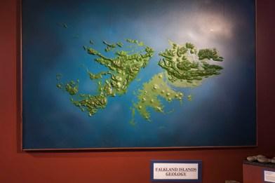Falkland Islands Geological Map