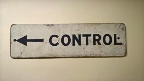 Control Sign