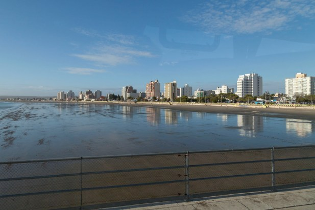 Puerto Madryn From Coach On Dock