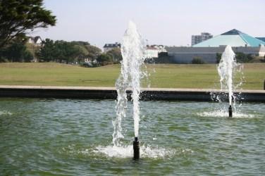Southsea Castle, Pond, Fountain, 2006