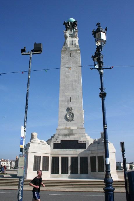 Southsea, War Memorial, 2006