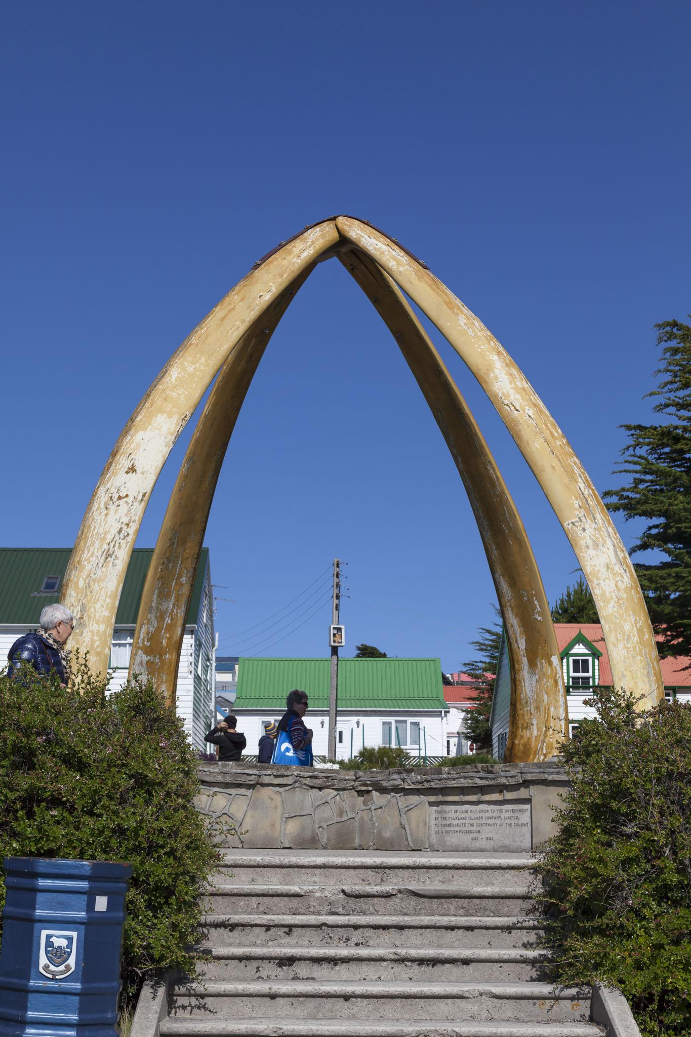 Whalebone Arch, Falklands
