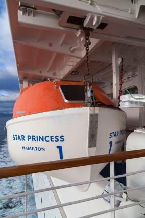 Star Princess Lifeboat