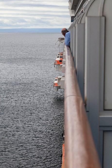 Lowering Tender Boat