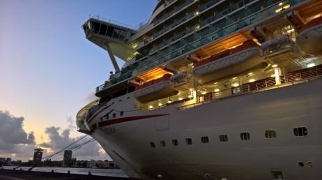 P&O Cruise Ship Azura