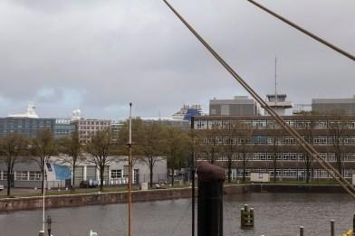 Azura Behind Buildings