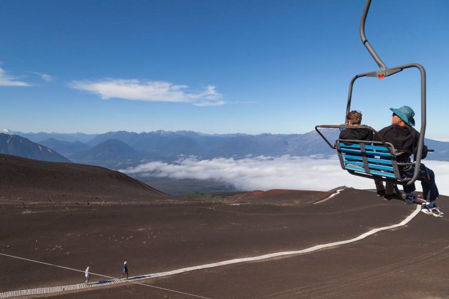 Osorno Volcano Chairlift Ride