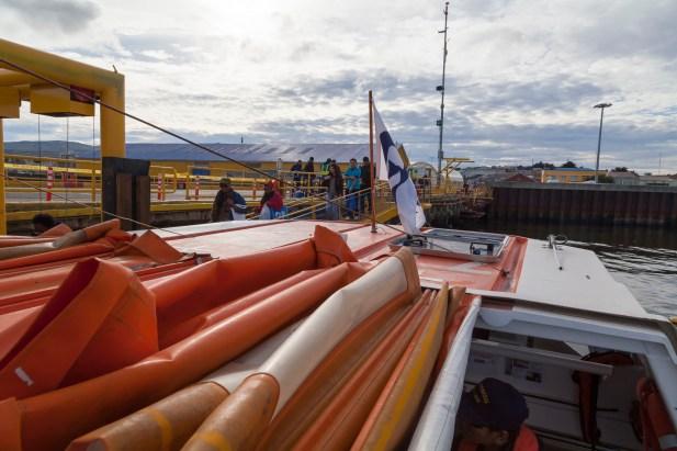 Tender Boat, Punta Arenas