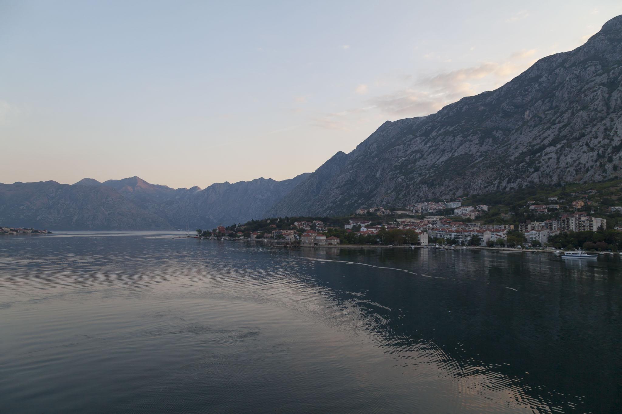 Bay Of Kotor From Royal Princess