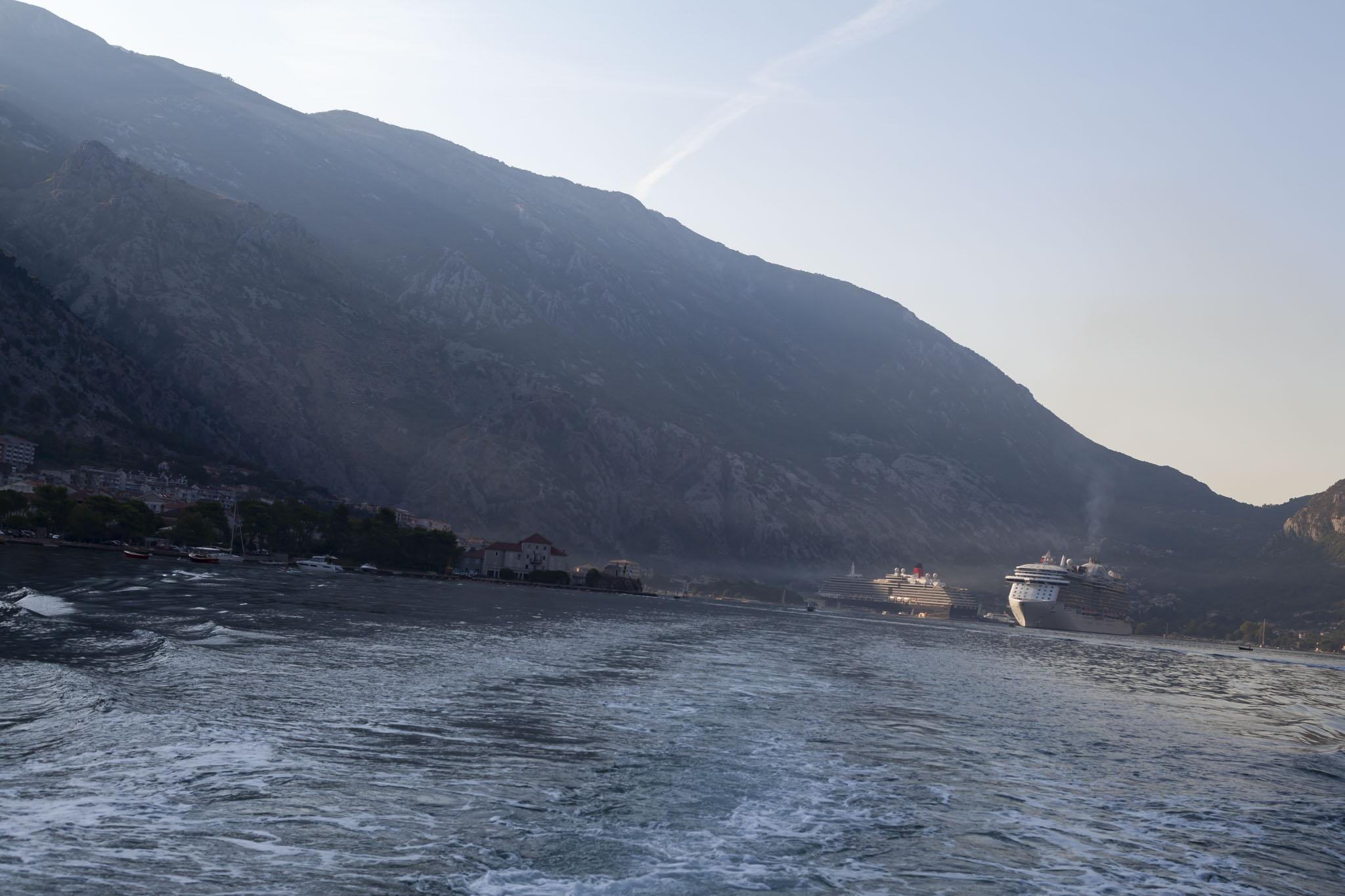 Royal Princess, Queen Victoria, Bay Of Kotor