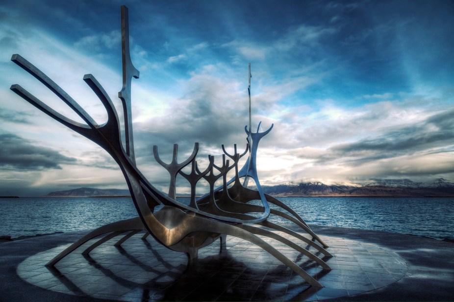 Iceland - Reykjavik - Sun Voyager - Processed