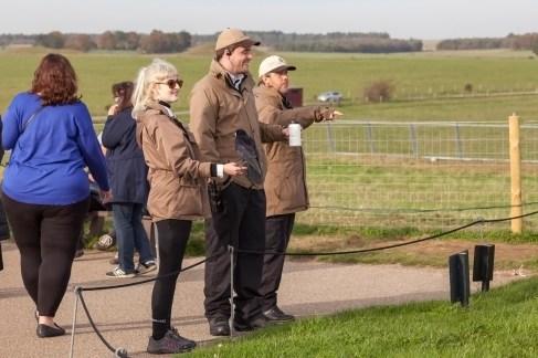 Stonehenge Staff With Crow