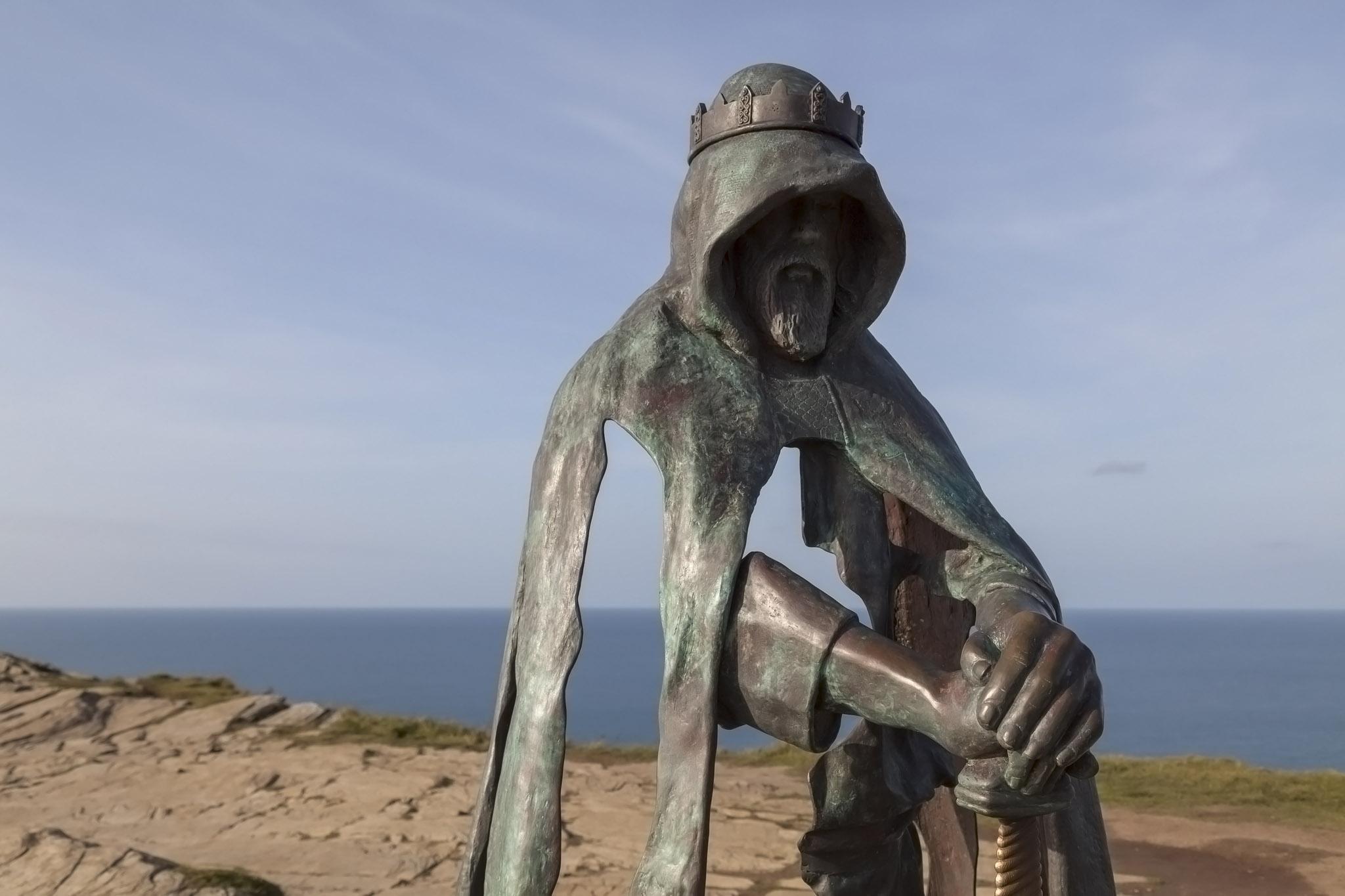King Arthur Sculpture