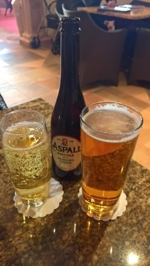 Jolly Olly and Aspall's