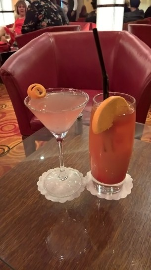 Cosmopolitan and Planter's Punch