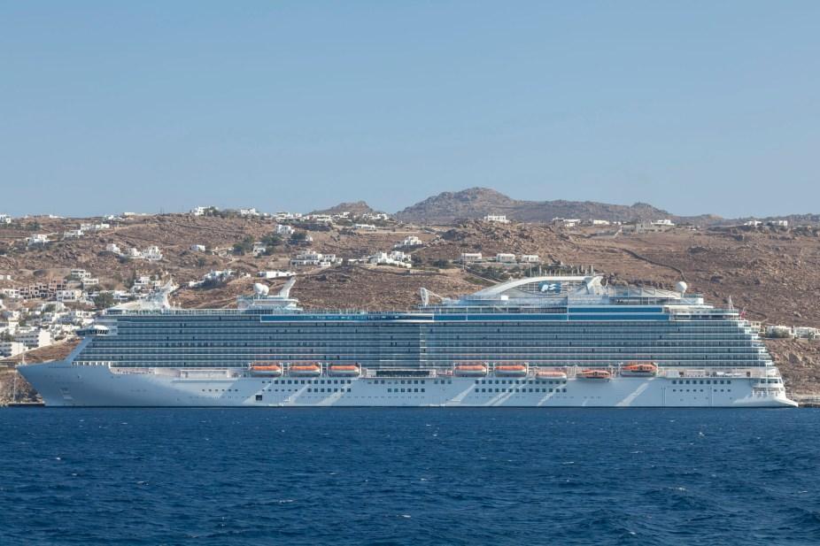Royal Princess From Delos Boat