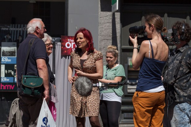 Carrie Grant, The One Show, Chichester