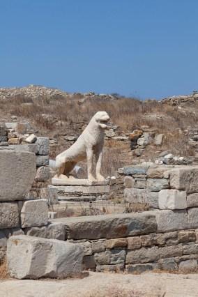 Delos Stone Lion
