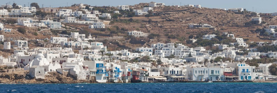 Mykonos From Boat