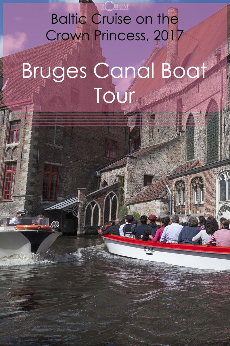 Bruges Canal Boat Tour