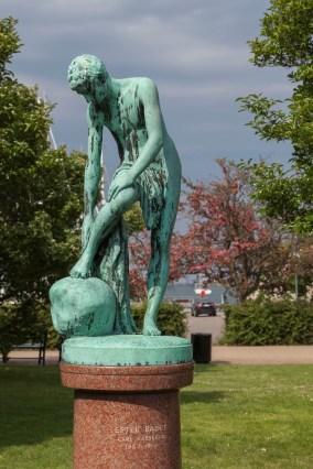 Danish Statue