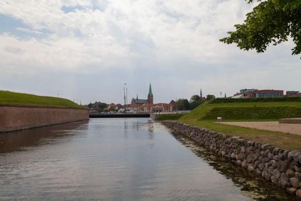 Helsingør From Kronborg