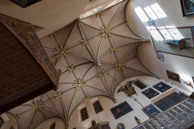 Loppem Castle Ceiling