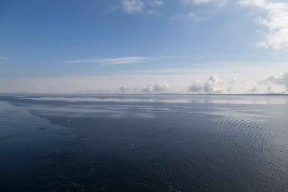 Approaching Estonia