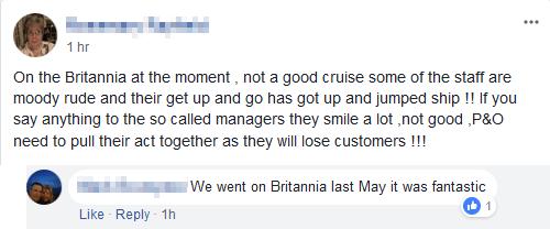 Cruise Forum Irrelevance