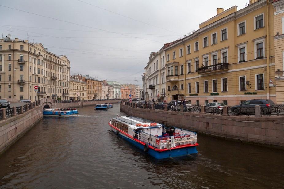 Moyka River Boats, Saint Petersburg