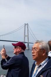 Crown Princess Cruising Past Denmark