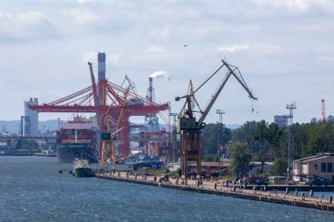 Gdynia Port From Crown Princess