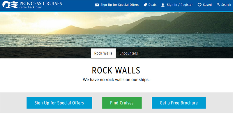 Princess Rock Walls
