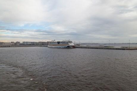 Saint Petersburg Cruise Port View