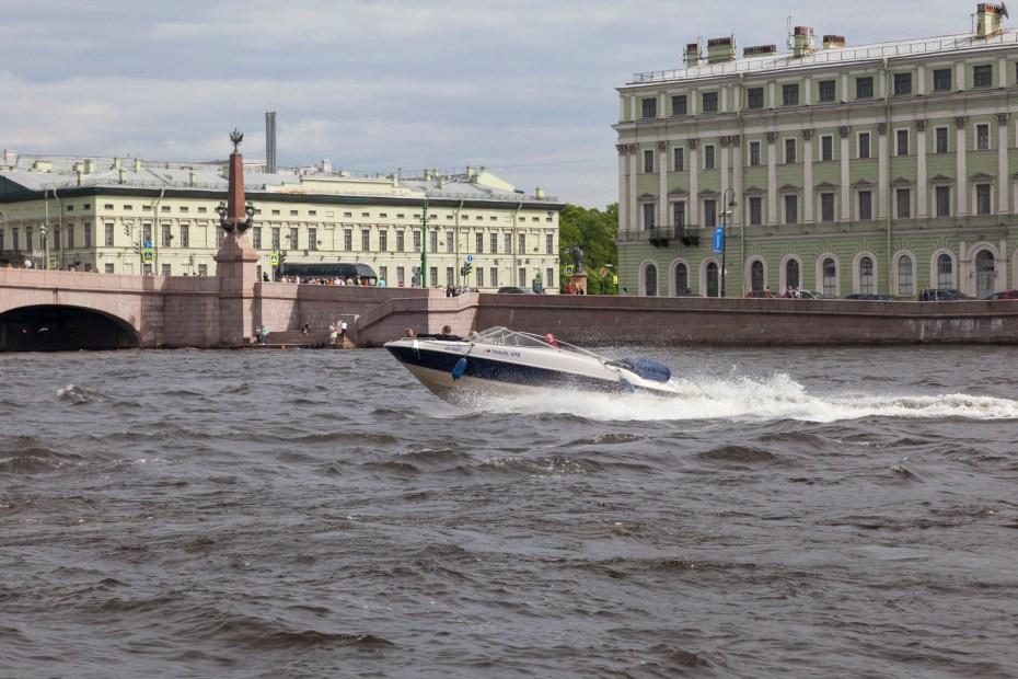 River Boat Ride, Saint Petersburg