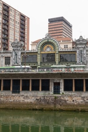Bilbao Art Nouveau Train Station