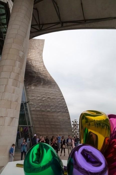 Guggenheim Museum And Tulips