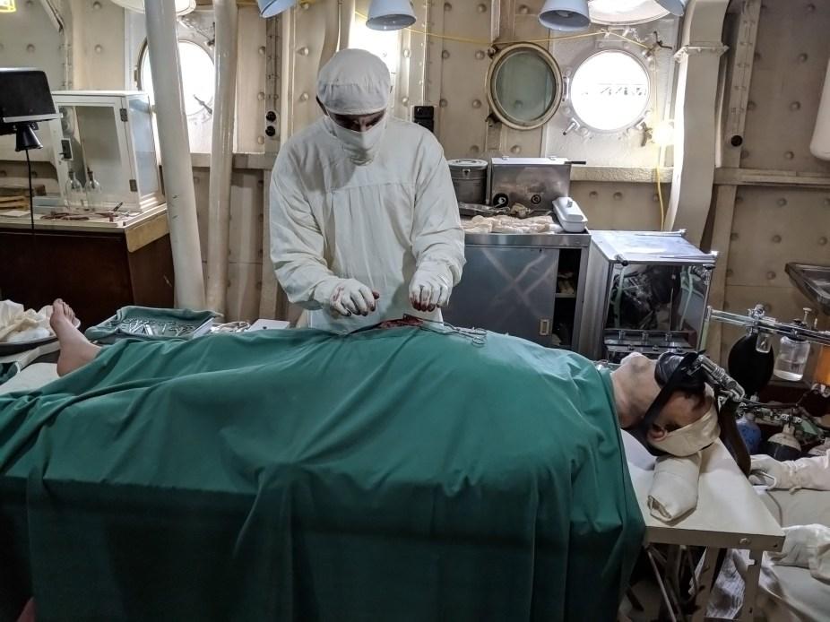 HMS Belfast Surgery