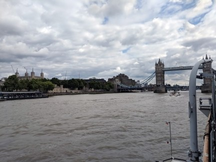 London From HMS Belfast
