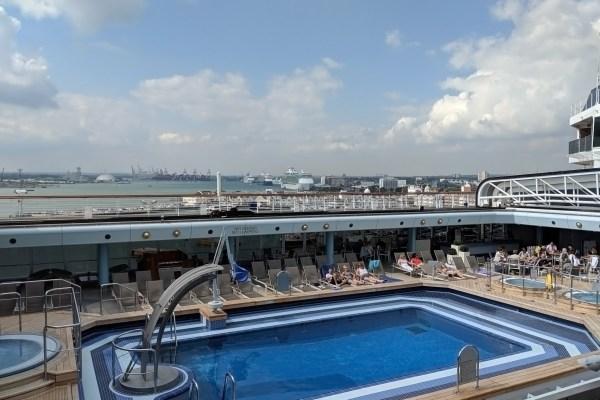 Arcadia, Top Deck, Swimming Pool
