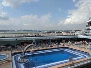 Arcadia, Top Deck, Swimming Pool