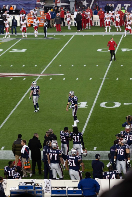 Gillette Stadium Warm Up
