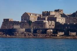 Castle Cornet From Tender Boat