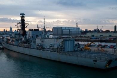 Naval Dockyard, Dawn