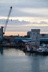 Portsmouth Port, Sunrise