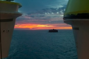 Solent Sunrise From Cabin