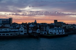 Old Portsmouth From Astoria At Dawn