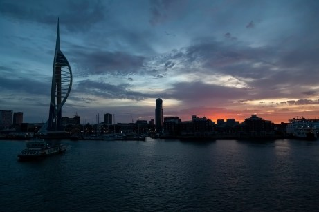 Portsmouth, Spinnaker, Sunrise
