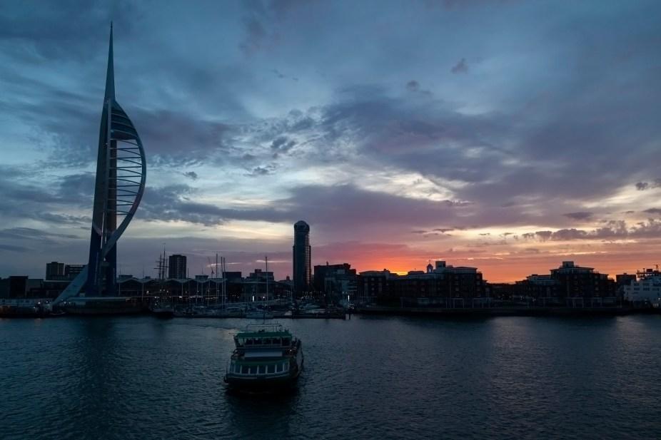 Portsmouth Harbour Sunrise